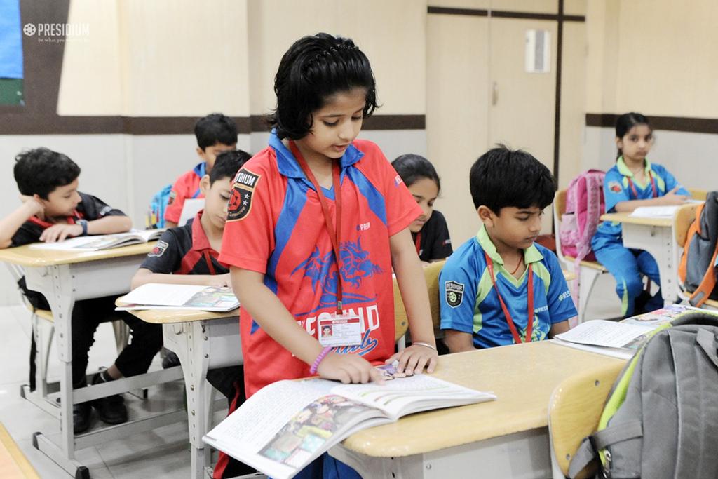 हिन्दी दिवस: प्रेसिडियंस ने नुक्कड़ नाटक और गीत से मान मोह लिया
