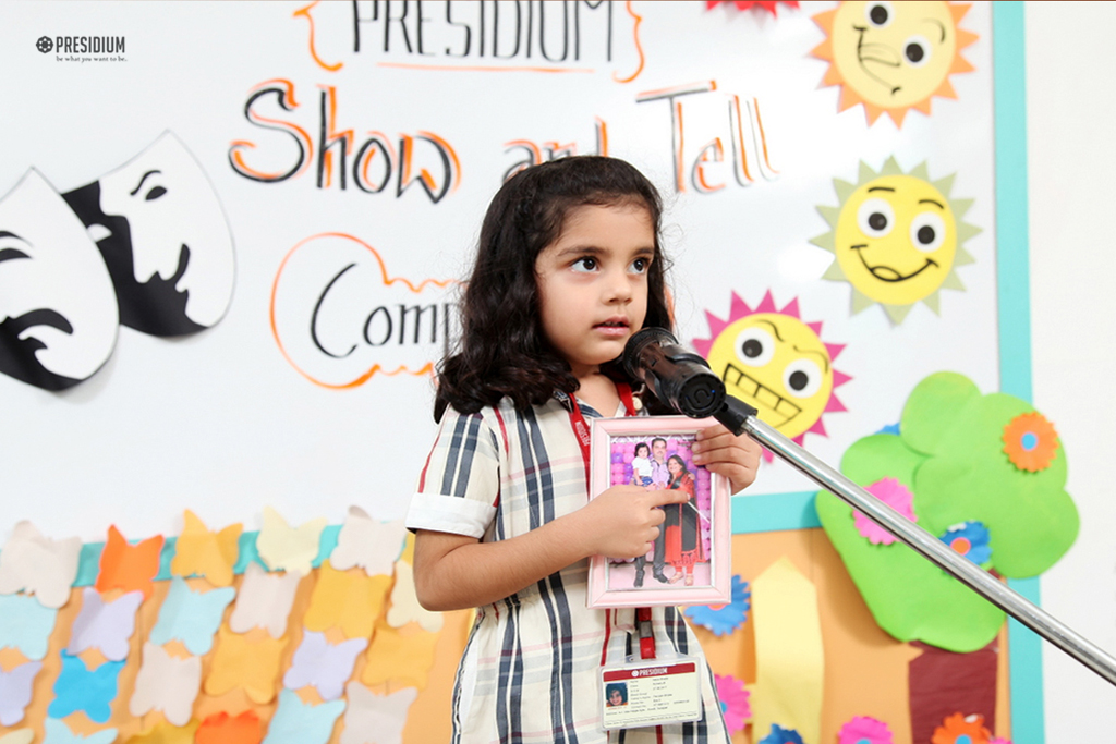 INTRA-CLASS SHOW & TELL COMPETITION ENTHRALLS LITTLE PRESIDIANS