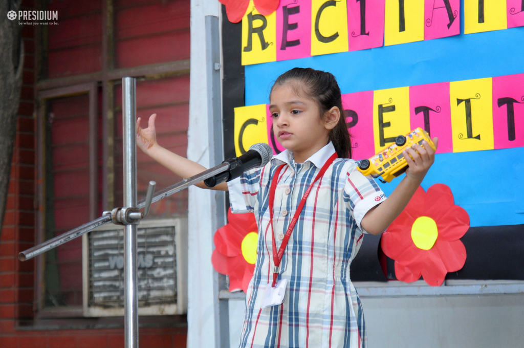 PRESIDIANS SHOW EXEMPLARY CONFIDENCE AT RECITATION COMPETITION