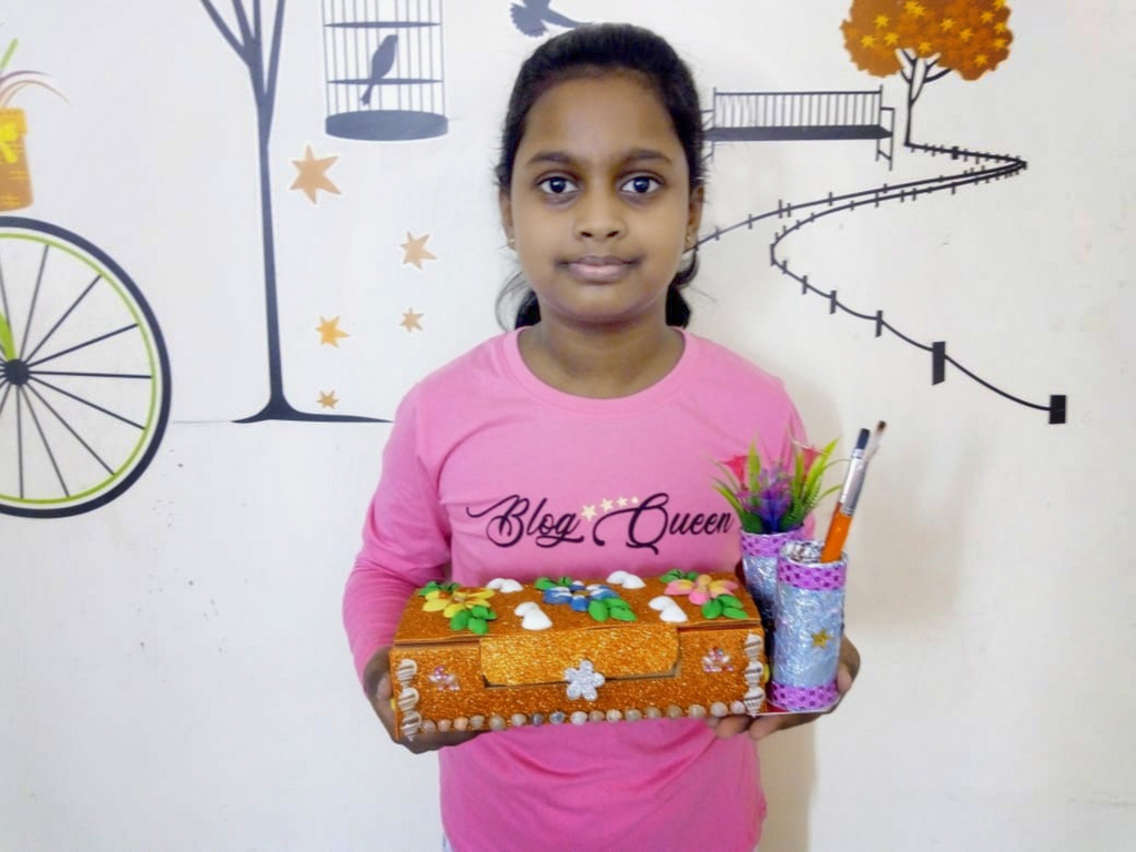 BEST OUT OF WASTE INTRA CLASS COMPETITION 2020