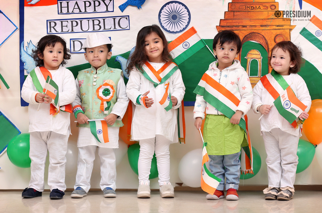 PATRIOTIC PRESIDIANS CELEBRATE THE 70TH REPUBLIC DAY!