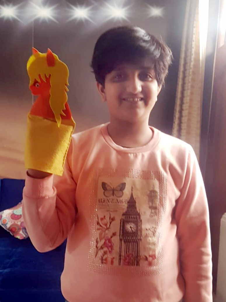 PUPPET MAKING ACTIVITY WITH ENTHUSIASM 2021