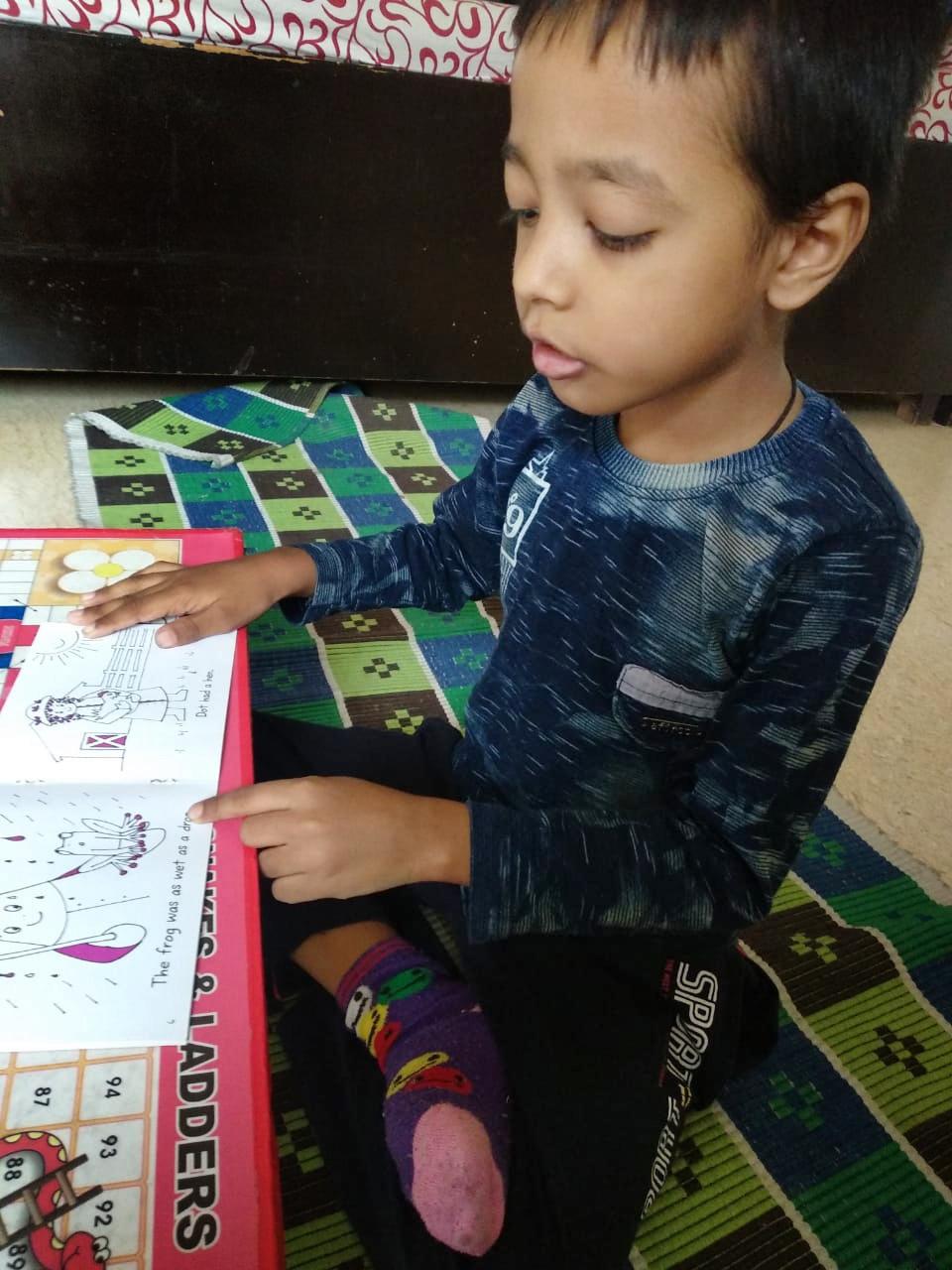 STORY READING ACTIVITY