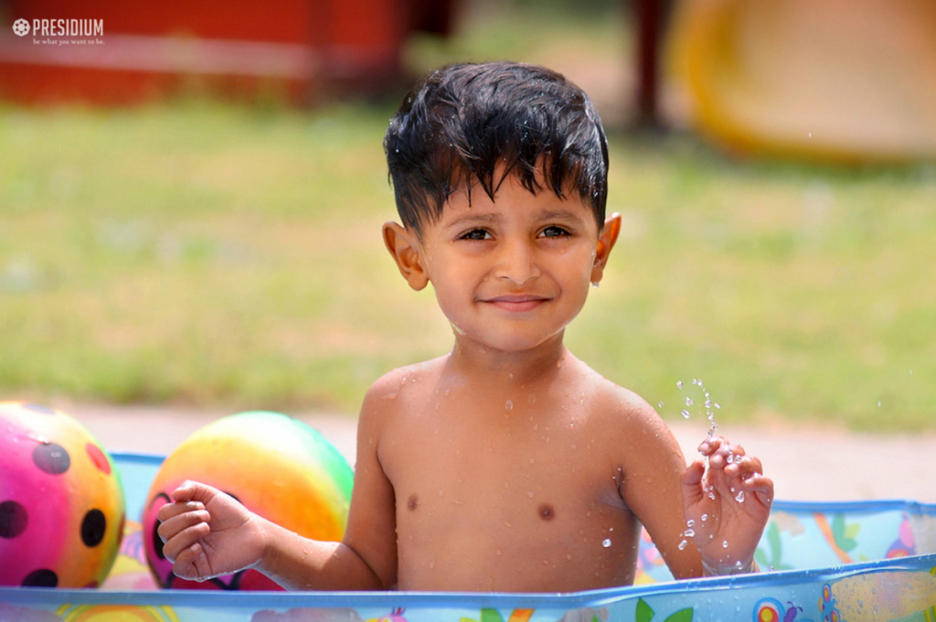 LITTLE PRESIDIANS BEAT THE HEAT WITH FUN-FILLED SPLASH POOL PARTY