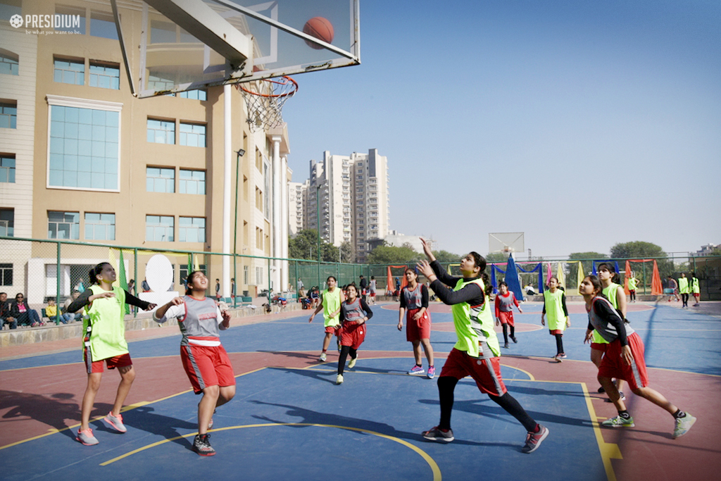 INTER-PRESIDIUM BASKETBALL MATCH ENTICES OUR BUDDING PLAYERS