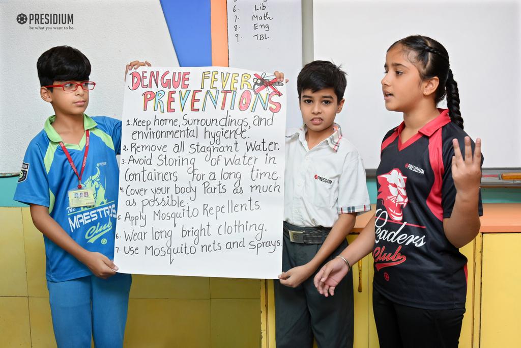 PRESIDIANS RAISE AWARENESS ON MONSOON DISEASES 2019