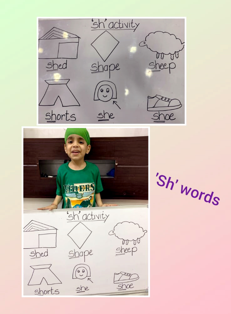 VOCABULARY WITH FUN ACTIVITY 2020