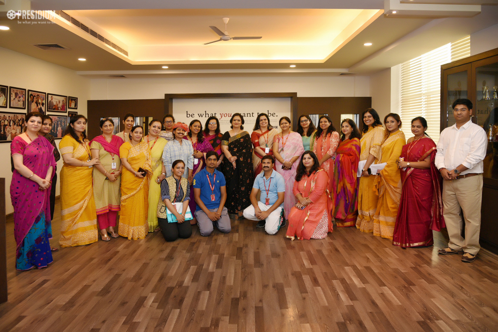 STUDENTS & STAFF SHARE THEIR YEAR-ROUND LAURELS WITH SUDHA MA'AM