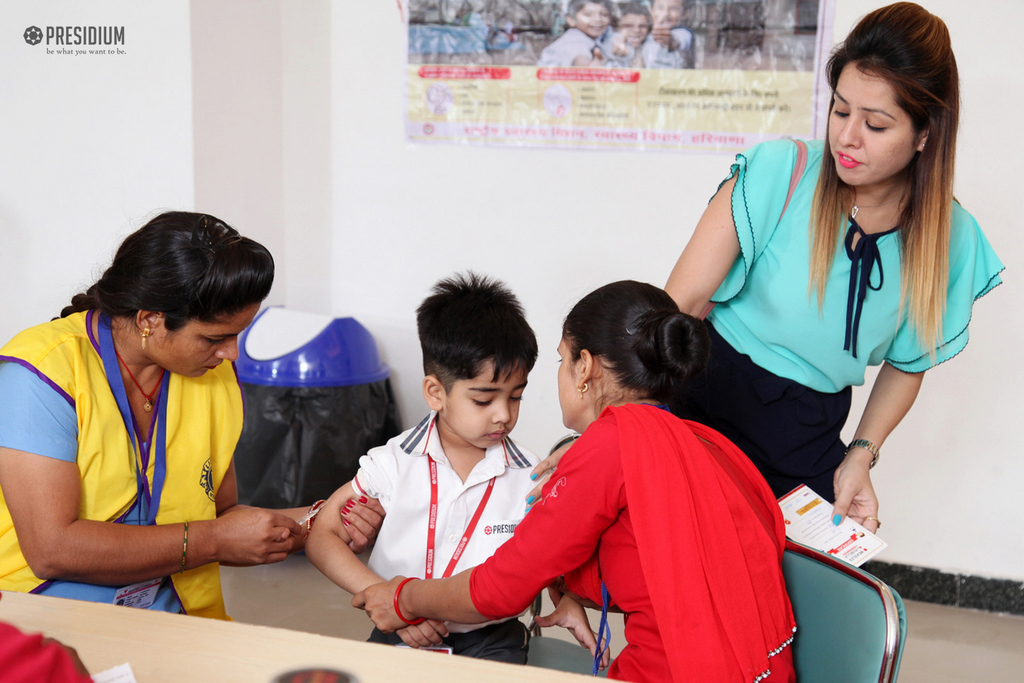 VACCINATION CAMP FOR STUDENTS
