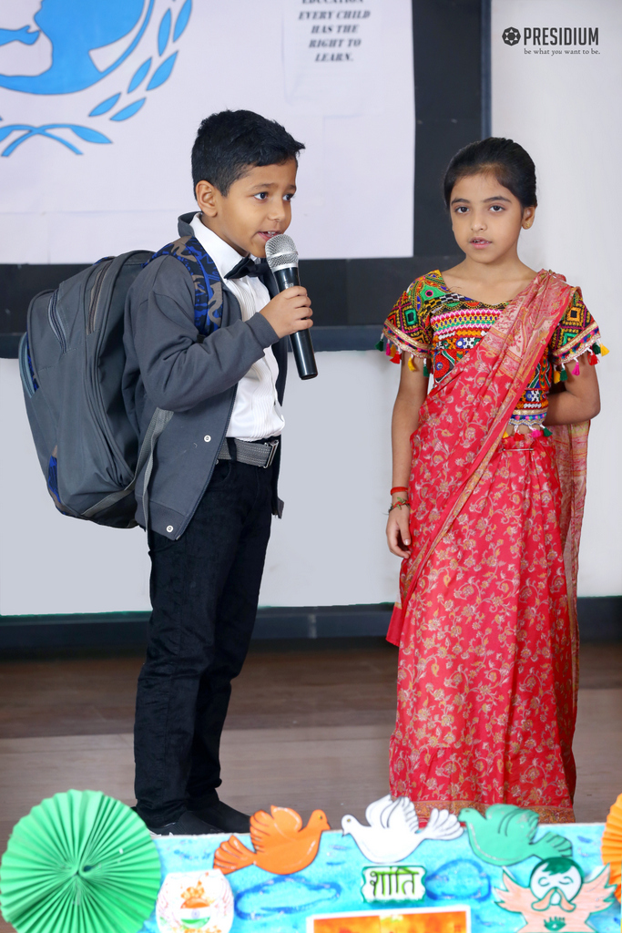 SPECIAL ASSEMBLY ON UNICEF DAY 2019