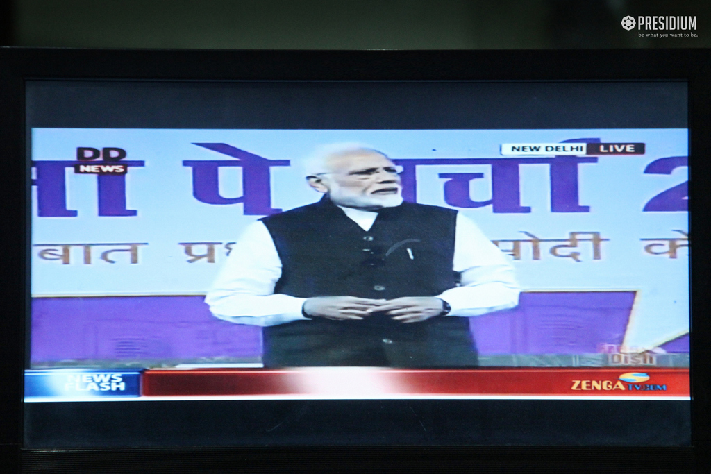 'PARIKSHA PE CHARCHA': PM MODI'S INTERACTION WITH THE YUVA SHAKTI