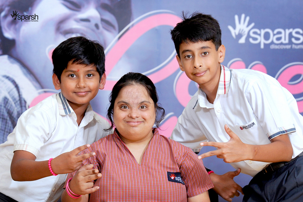 VISIT SPARSH TO SEE THEIR SPECIAL FRIENDS
