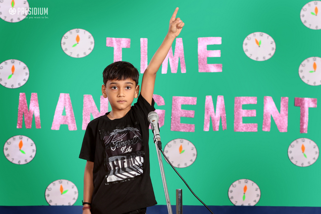 Special Assembly-Time Management 2019