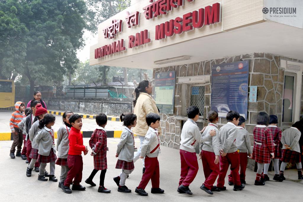 Visit to rail museum