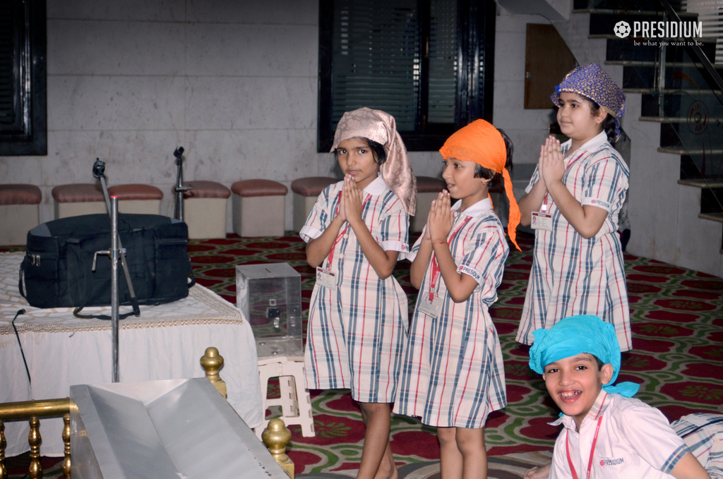 YOUNG DEVOTEES VISIT GURDWARA AND TEMPLES DISCOVERING RELIGIONS