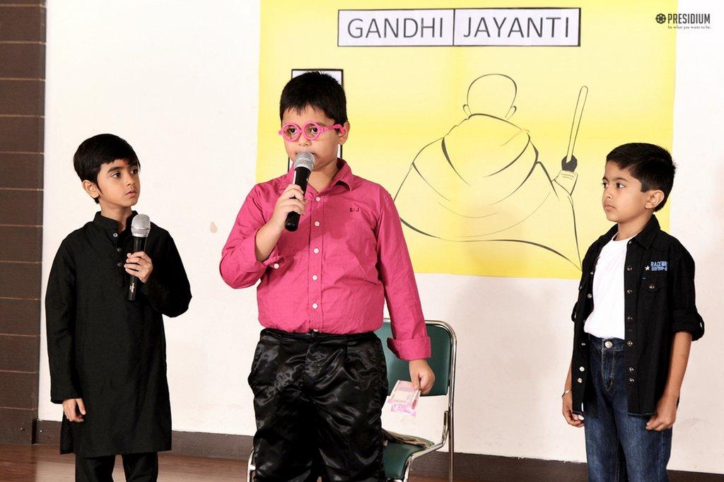 REMEMBERING GANDHI JI'S CONTRIBUTION TO THE FREEDOM STRUGGLE