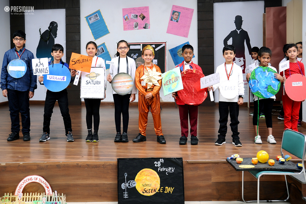 PRESIDIANS PRESENT A SPECIAL ASSEMBLY ON NATIONAL SCIENCE DAY
