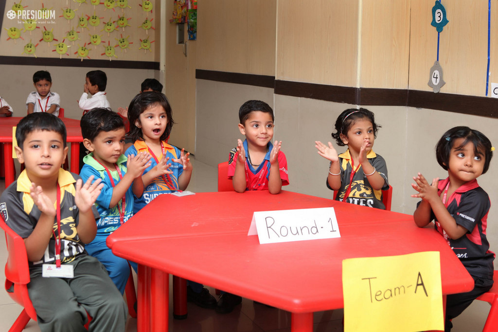 LITTLE LEADERS ANSWER FUN QUESTIONS ON SEASONS AT G.K QUIZ