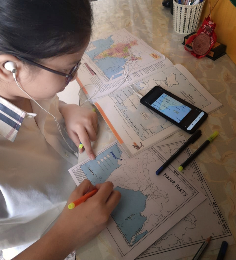 STUDENTS ENHANCE THEIR GEOGRAPHY