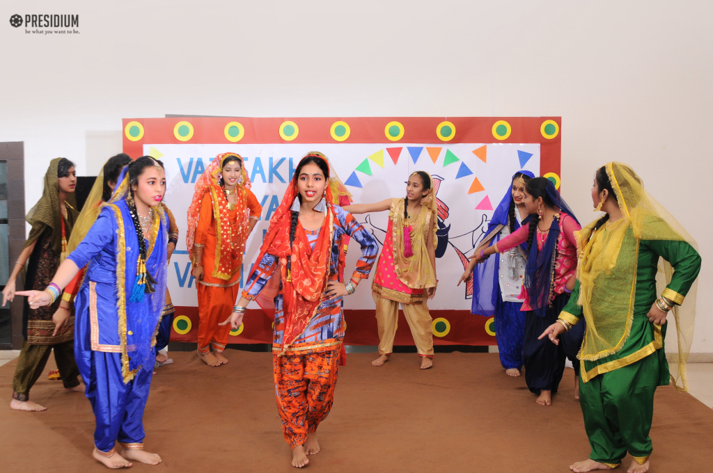 BAISAKHI ADDS ABUNDANT SPLENDOUR TO THE CORRIDORS OF PRESIDIUM
