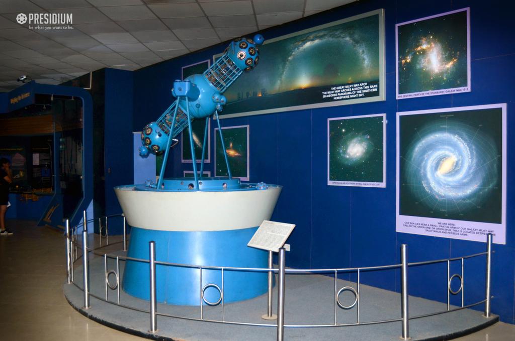 VISIT TO NEHRU PLANETARIUM EXPOSES PRESIDIANS TO ASTRONOMY