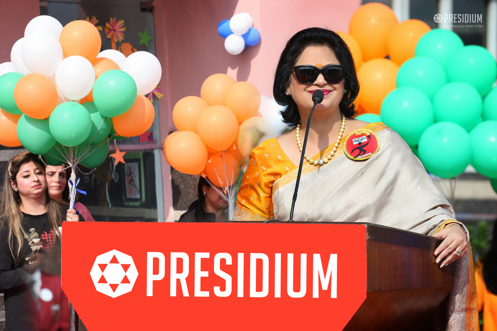 PRIZE DISTRIBUTION AT PRESIDIUM 2019