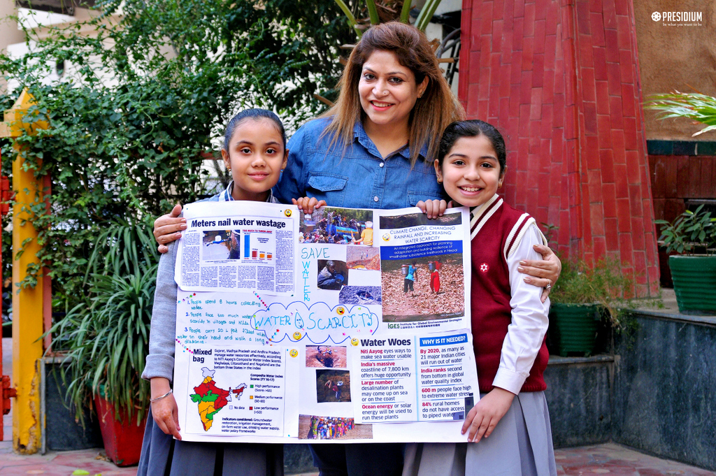 SCHOOL CONDUCTS COLLAGE MAKING ACTIVITY 2019