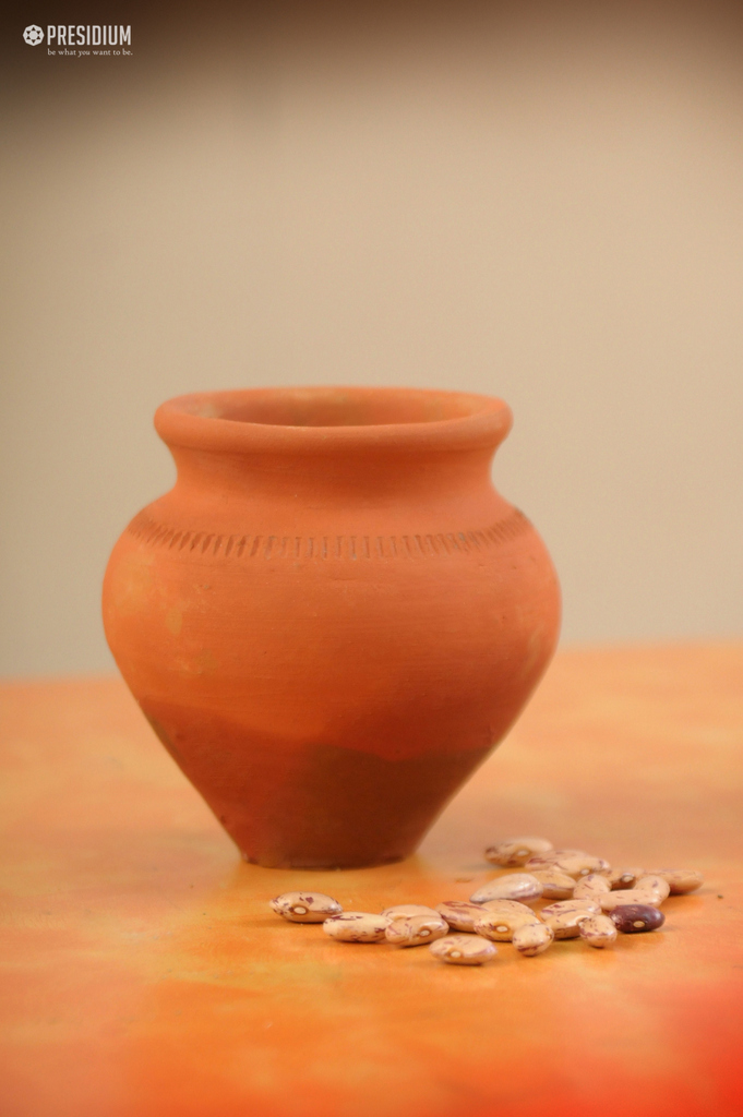 EARTHEN POT ACTIVITY LED THE PRESIDIANS ON THE PATH OF GREEN INDIA