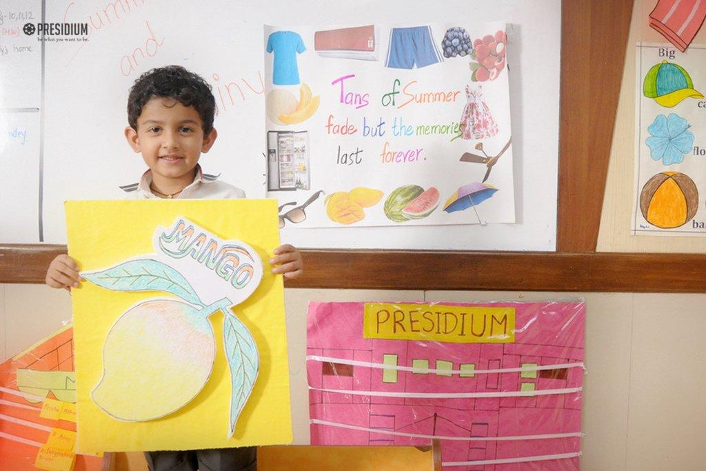 Presidium School, Celebrating the monsoon, Rainy Day