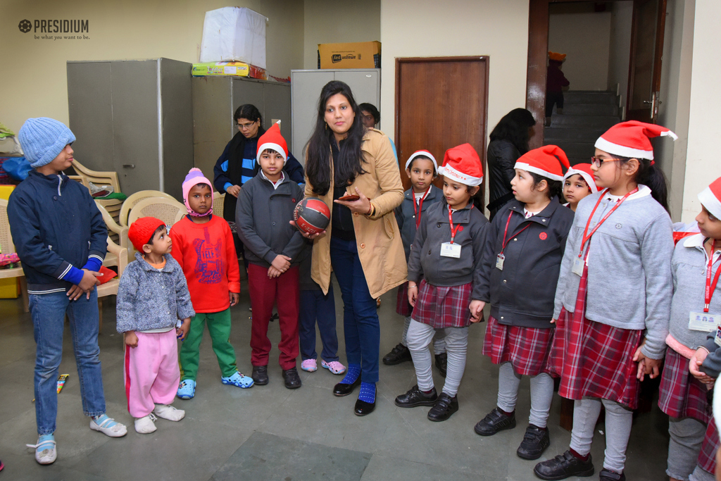 Visit to orphanage 2019
