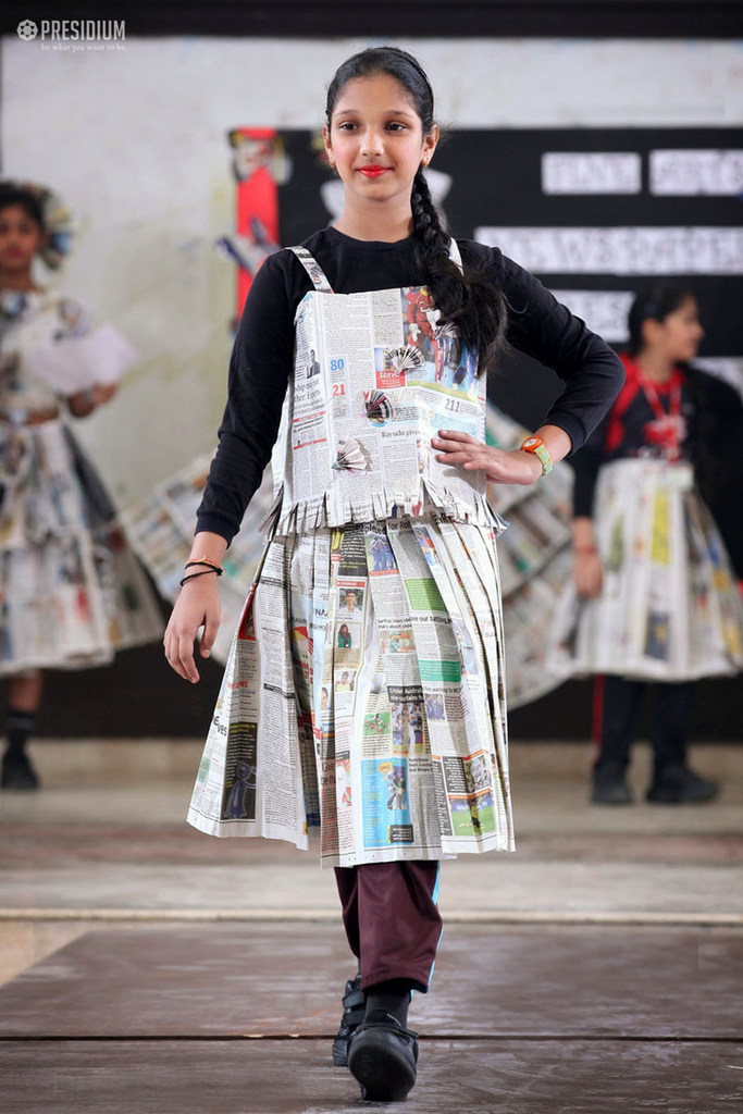 Newspaper Dress 2018