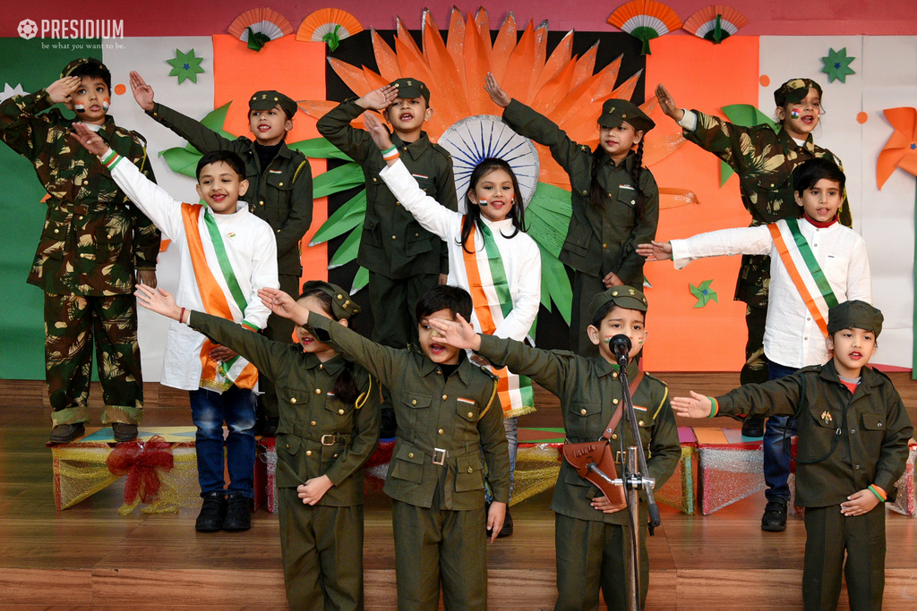 PRESIDIANS CELEBRATE THEIR PROUD PATRIOTIC SIDE ON REPUBLIC DAY