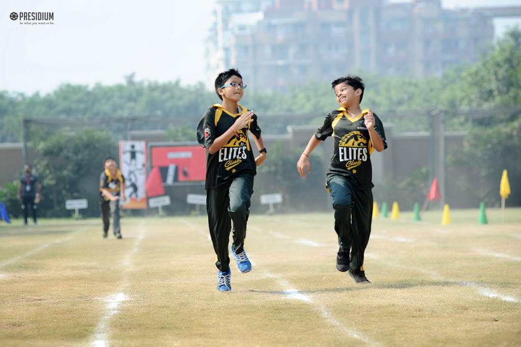 ANNUAL SPORTS DAY PROVIDES PROSPECT FOR HEALTHY EXCITEMENT & JOY