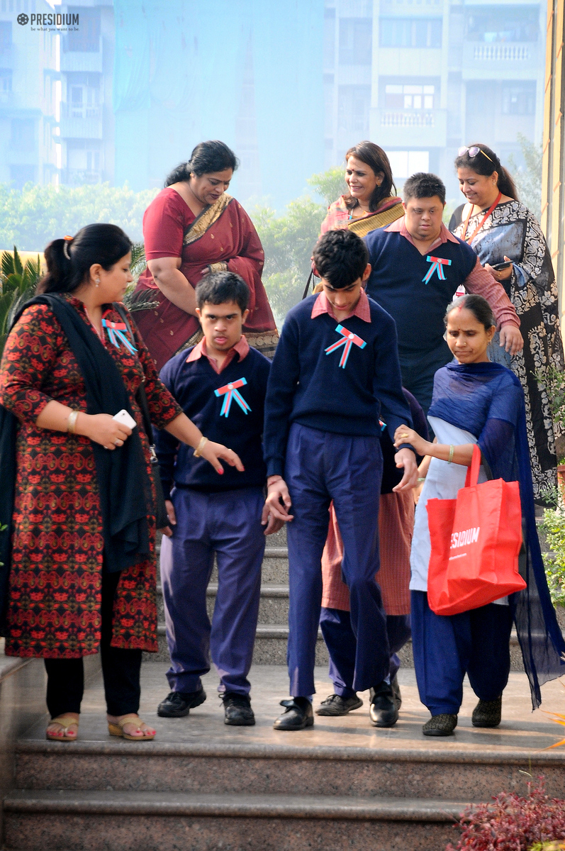 SPARSH CHILDREN VISIT & THANK PRESIDIANS FOR THEIR CONTRIBUTION