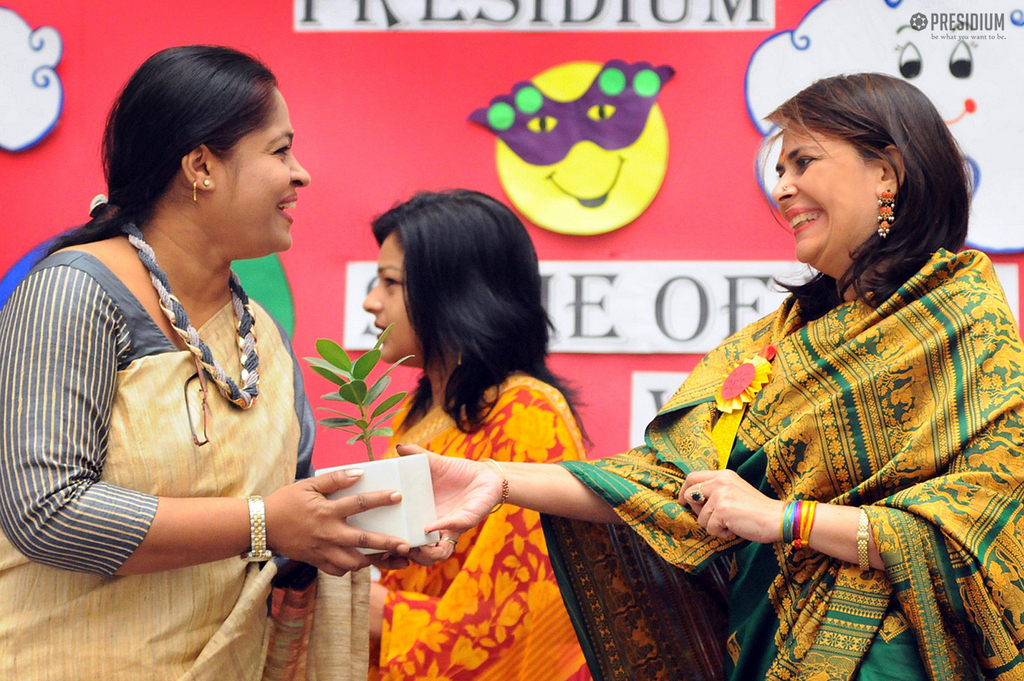SPECIAL CHILDREN OF SPARSH THANK PRESIDIANS FOR THEIR KINDNESS