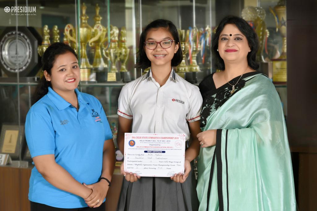 58TH DELHI GYMNASTICS CHAMPIONSHIP 2019