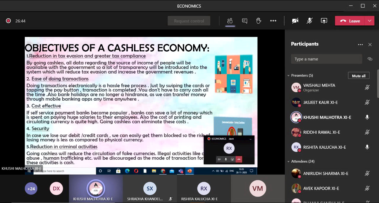 ECONOMICS KNOWLEDGE 2020
