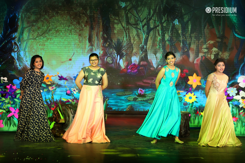 PRESIDIUM GURUGRAM HOSTS THE NAVRAS AT THE KINGDOM OF DREAMS