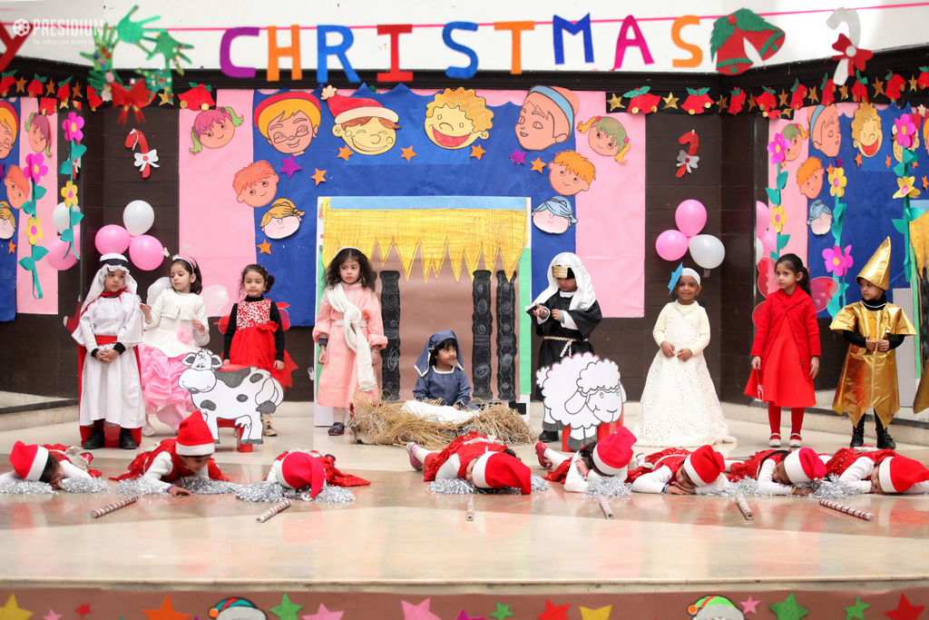 YOUNG PRESIDIANS RING IN THE FESTIVITIES OF CHRISTMAS