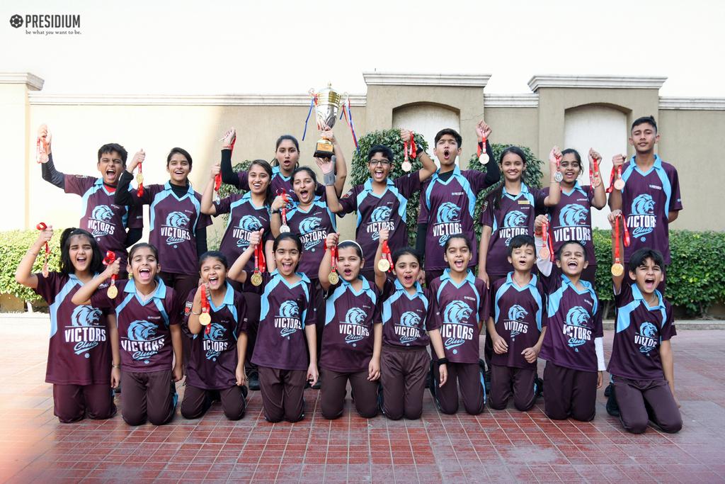 Sports Day Prize Distribution Presidium Dwarka 22