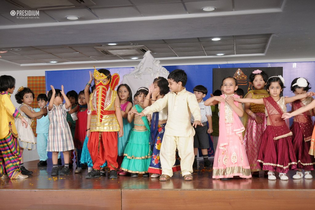 Presidium School, GANESH CHATURTHI CELEBRATIONS 2017, Ganesh Chaturthi Ideas