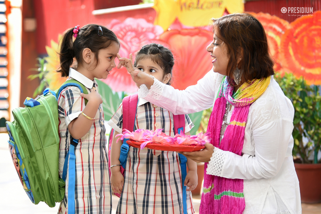 presidium-punjabi-bagh-welcome-activity-2019