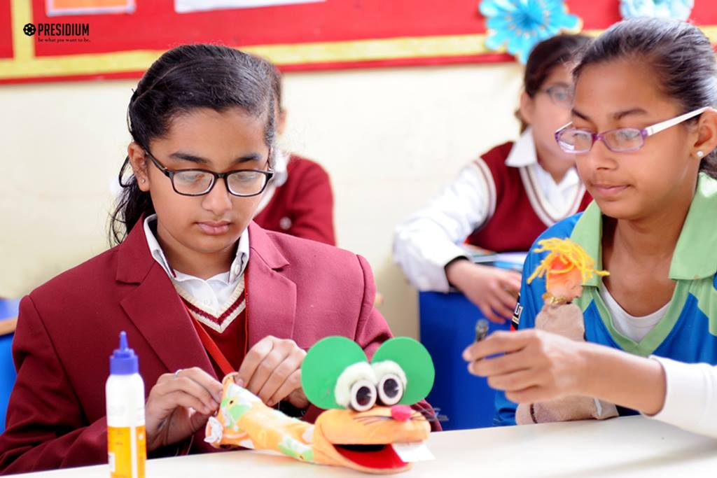 PUPPET MAKING COMPETITION: ENHANCING CREATIVE SKILLS OF STUDENTS