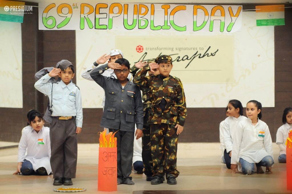 PATRIOTIC PRESIDIANS CELEBRATE 69TH REPUBLIC DAY WITH ZEST