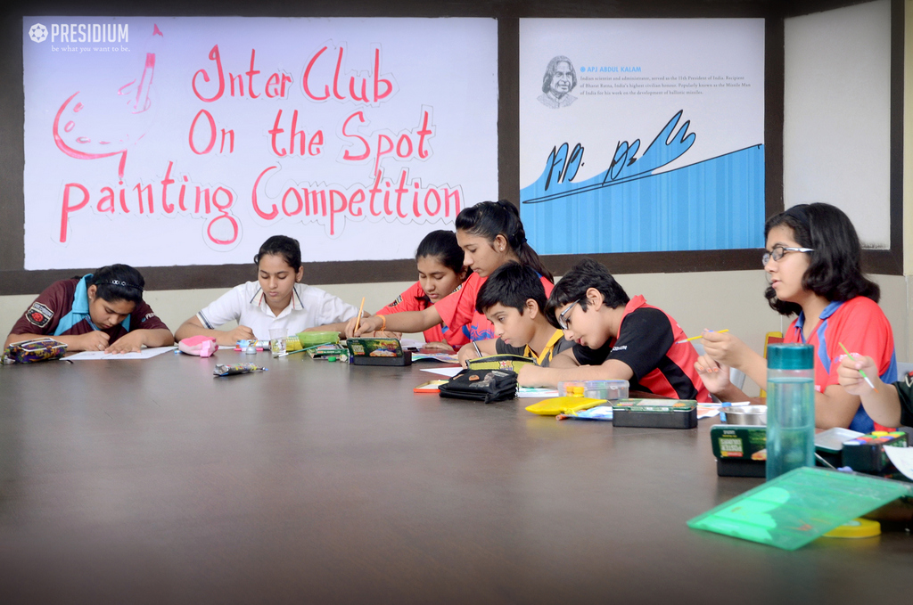 INTERCLUB PAINTING & ELOCUTION COMPETITION 2019
