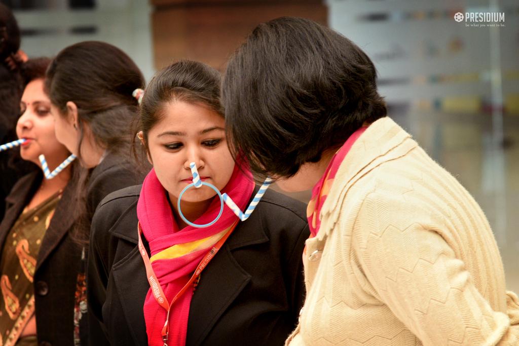 MRS. SUDHA GUPTA CONDUCTS A SEMINAR FOR TEACHERS