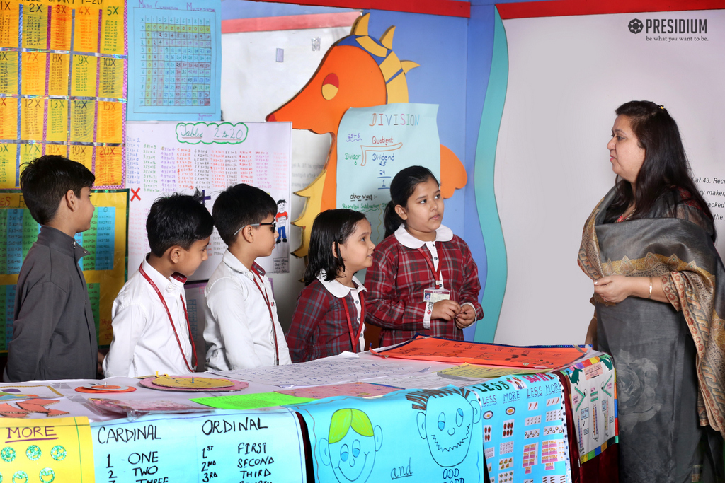 PRESIDIANS RECOLLECT MATHEMATICS LESSONS THROUGH GANITOTSAV
