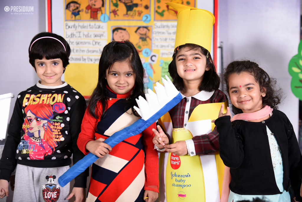 PRESIDIANS RAISE AWARENESS ON HYGIENE WITH A SPECIAL ASSEMBLY