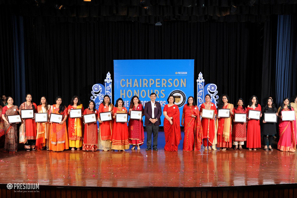 TEACHERS AT CHAIRPERSON HONOURS 2019