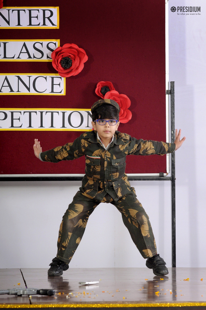 HAPPY FEET DANCE COMPETITION BRINGS OUT PERFORMER IN PRESIDIANS